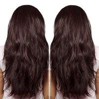 meilleures perruques pour les femmes noires cheveux pleines perruques Bourgogne vague de couleur avant de dentelle de l'homme humain de 99J perruque de cheveux