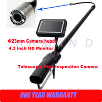 Wholesale Carbon Fiber Light Weight Telescopic Pole Inspection Camera mm cameras Industrial boroscope