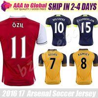 adult soccer - Top quality OZIL jersey Adult jersey WILSHERE ALEXIS GIBBS WALCOTT CHAMBERS soccer jersey football jerseys shirts