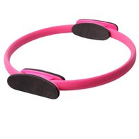 Wholesale Yoga Pilates Ring Exercise Fitness Circle For Fitness Training Keep Slim Waist Lose Weight Balance Yoga Practice Indoor Outdoor order lt no