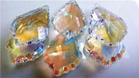 Wholesale grade AAA Wholsale AB Color French Cut Crystal PrismGlass Crystals For Chandeliers Inches DIY Handmade