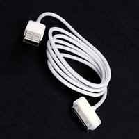 Wholesale USB Charger Sync Data Cable for iPad2 iPhone S G iPod Nano Touch