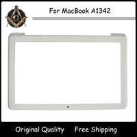 apple macbook white screen - Original New for Apple quot MacBook A1342 LCD Screen Front Bezel White Display Frame Year