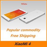 Bon choix Xiaomi Mi4 Téléphone FDD LTE 4G Snapdragon 801 Quad Core 3G RAM 13MP 5 '' 1920 * 1080P Android 5.0 MIUI 6 Téléphone mobile