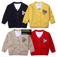 Wholesale new baby girls boys clothing sweater spring autumn baby sweaters newborn clothes O neck sweater