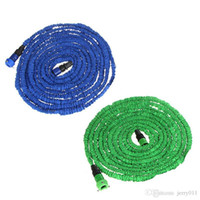 Cheap 75FT Ultralight Flexible 3X Expandable Garden Magic Water Hose Pipe + Faucet Connector + Fast Connector