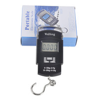 Cheap Outdoor Portable 50kg   10g LCD Electronic Balance Digital Fishing Hook Luggage Weighing Hanging Digital Scale 2508019