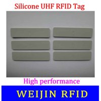 alien rfid - VIKITEK silicone UHF RFID Tag Alien Higgs chip Water proof high temperature resistance