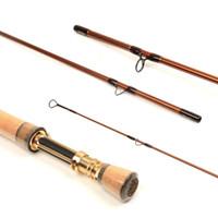 Wholesale V gold SK40 carbon fiber FT wt Fast action Fly fishing rod