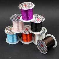 Wholesale 12 Brand New DIY Jewelry Elastic Thread Cord String for Beading Bracelet Necklace FG15363