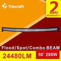 30 Degree beam long - Long distance inch x W LM W CREE LED work light bar TRUCK CAR X4 MARINE JEEP boat curved led light bar