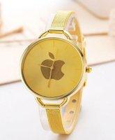 analog apple - The new Ms mesh belt watch fashion students apple design quartz watch