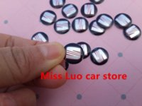 Wholesale 5PCS mm High quality D SEAT Car logo Auto Key Fob Emblem Badge Sticker Auto accessories