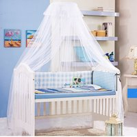 Wholesale Baby Bed Mosquito Net Mosquito Net Stand Snap Mosquiteiros Cama Bed Crib Mosquito Door Type Mosquito Net
