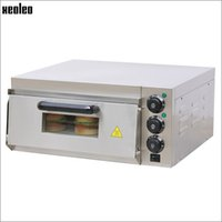 Wholesale Xeoleo Commercial Electric Pizza Oven W V Single horizontal pizza stove stainless steel hot plate oven with timer control