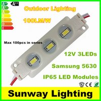 led signs - SAMSUNG LED Modules LED W IP65 Waterproof Led Module light outdoor sign lighting warm cool white CE RoHS DC V