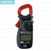 Wholesale all sun EM306B Digital Clamp multimeter AC DC voltage current resistance Continuity Test With Buzzer Electronic Tester