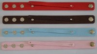 Wholesale New PU leather Snaps Wide Snake Wristband Bracelets Fit MM Slide Charms Slide Letters