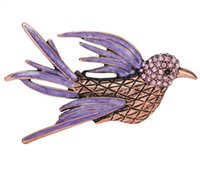 african parrot bird - Vintage Animal Bird Parrot Brooches Expoyed Alloy Brooch Pin Garment Accessories for women and girls CY02