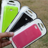 apple cardboard - Universal empty paper cellphone case retail boxes Blister card packaging cardboard packing package for iphone s plus Samsung note s7