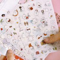 Wholesale Kawaii fat rabbit series sticker for kids Decoration sticker School supplies tt