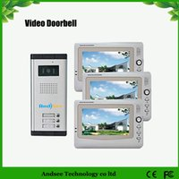 Wholesale Infrared Video Door Phone System with LCD Screens Easy Installation HA2DB04