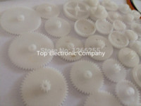 Wholesale ree shipping a Plastic gear rack pulley belt Worm gear Single and double gear teeth for arduino diy kit Parts amp Acc