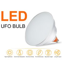 bay ceiling - UFO Led bulb light E27 W high bay light replace W halogen lamp ceiling lamp high brightness Lm AC110 V workshop lights