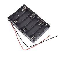 Wholesale Battery Box Slot Holder Case for Packs AA A Batteries Stack V