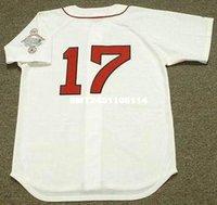 barrett homes - Throwback MARTY BARRETT Boston Red Sox Retro jerseys Throwback Home Men s embroidery baseball jersey