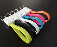 android key ring - 2 in1 Key Chain Ring USB Sync Data Charger Cable For Android Phone