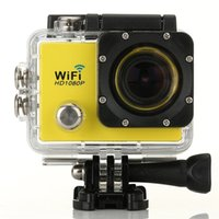 Wholesale SJ9000 Wifi Sports Camera Ultra K Full HD FPS Sport Action Camera MP Sensor DV GOPRO HERO Style Camera