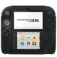 Wholesale 4 Colors High Quality New Pure Color Ultra Thin Silicone Case for Nintendo DS Soft Gel Protective Case Cover
