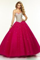 dressing and bandages - Burgundy Prom Dresses Beading and Crystal Ball gown Style Long Sweetheart Bandage Evening Gowns vestidos de festa
