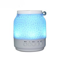 audio towers - New Audio Player Colorful Light Sound Box Desktop Bluetooth Speaker Dual Tower Dancing Stereo LED Bluetooth Mini Speakers TLS19