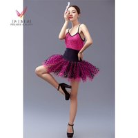 Wholesale professional ballet tutu ballet dress for children Children s stage costumes for girls spring new Latin dance costume dance skirt