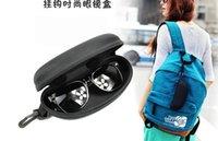 Wholesale NEW Hot Sale Zipper Eye Glasses Sunglasses Hard Case Box Portable Protector Black Holder