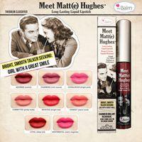 honest wholesale - Meet Matt e Hughes Colors Lipgloss Latest Arrival Lipsticks Lip gloss Make up Long Lasting Lip Gloss HONEST DEVOTED LOYAL Lipstick
