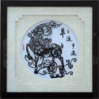 Wholesale Iron painting handicrafts with Chinese culture connotation the sheep