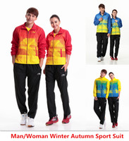 Wholesale For Man Woman new winter autumn badminton shirt badminton clothes table tennis shirt table tennis clothes T shirt