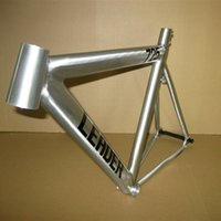 bicycle frame parts - 2016 Lastest Track Bike Frame Fixed Gear Frames C Super Light Aluminium Alloy Fixie Bike Frame Bicycle Parts Quality Warrant