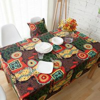 Wholesale Mediterranean Mediterranean linen linen tablecloths cloth Bohemia cloth cloth cloth cloth square table