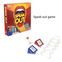 Wholesale Speak Out Games Ridiculous Mouthpiece Challenge Game Game for Your Mouthpiece with Paper Cards Interesting Party Game for Christmas