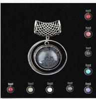 Wholesale Mixed colors scarf pendant necklace accessories hollow out pendant accessories