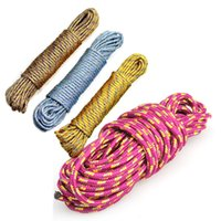 Wholesale 10 m Lifeline Climbing Rope Outdoor Camping Equipment Color Escape Rope Fashion Practical New BHU2