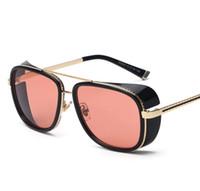 Wholesale 2016 IRON MAN Matsuda Same Model Tony Sunglasses Woman Men Brand New Personalized Sun Glasses Sports Eyewear Vintage WY22