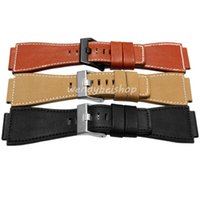 bell for sell - 35mm mm Hot Sell New Men Lady Black Yellow Red Brown Watch Band Genuine Leather mm Thick Band Strap Belt Silver Pin Buckle for bellrose