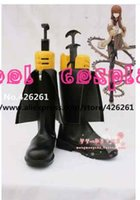 ami boot - anime fate Steins Gate Layer s Gate cosplay Makise Kurisu Hayase Ami boots shoes