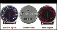 Wholesale HQ mm For De BF Gauge Car Meter Air Fuel Ratio Meter Red and White Light