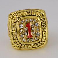 arkansas stone - replica Arkansas Razorbacks SEC National Championship ring GOHOGS solid high quality